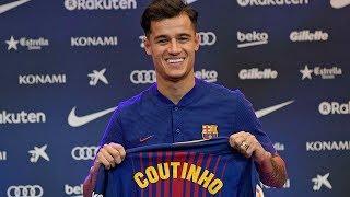 Coutinho Welcome To Barcelona! Official - Confirmed Winter Transfers 2018 ft. Coutinho, Van Dijk HD
