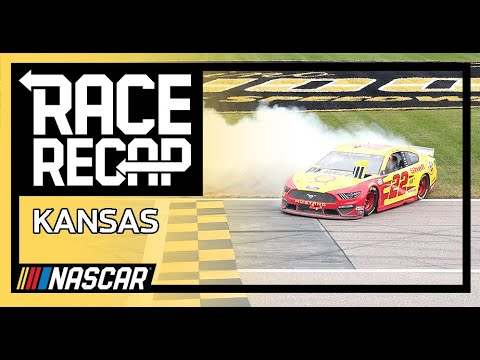 NASCAR ハリウッドカジノ400(カンザス・スピードウェイ)のレースをたった1分にまとめたダイジェスト動画