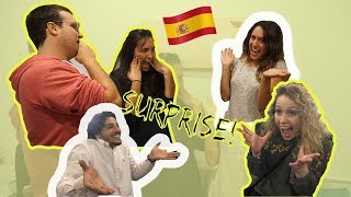 SURPRISING FRIENDS AND FAMILY IN SPAIN