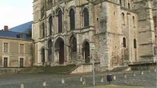 preview picture of video 'FRANCE REIMS WALK/ランス 38:サン・レミバジリカ聖堂 Basilique St-Remi'