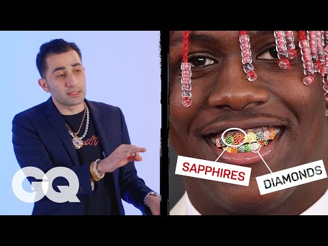 Jewelry Expert Critiques Rappers' Grillz | Fine Points | GQ