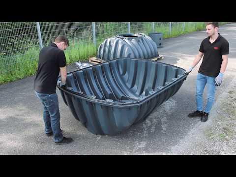 Assembly of Carat S underground tank