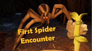 Grounded Really Scary First Spider Encounter