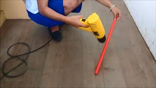 """EdTech2_NUERA """"HOW TO BEND A 90 degree PVC PIPE"""""""
