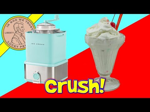 Ice Cream Maker With Candy Crusher! – Nostalgia Products