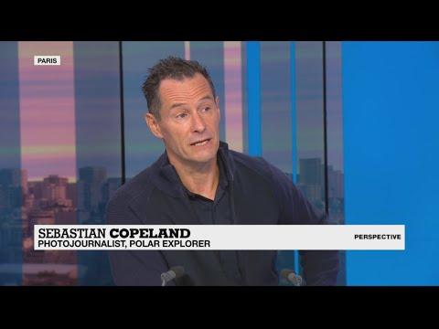 Polar explorer Sebastian Copeland on the 'urgency' of climate change awareness