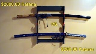 $200 Katana vs. $2000 Katana!