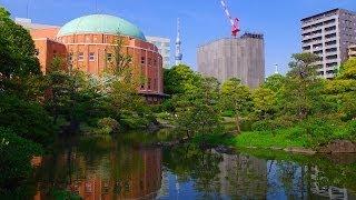 旧安田庭園両国公会堂東京スカイツリー墨田区