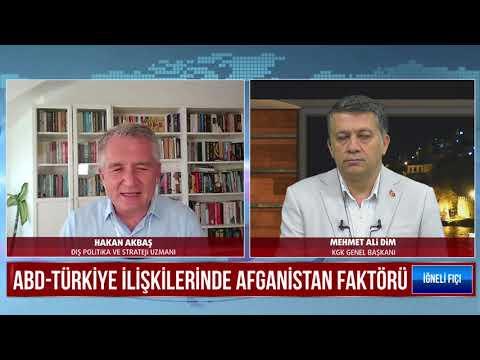 ABD-Türkiye İlişkilerinde Afganistan faktörünü Dim TV'de Mehmet Ali Dim ile değerlendirdik
