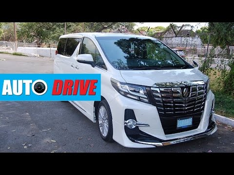 AUTO DRIVE: 2015 Toyota Alphard/ Vellfire review