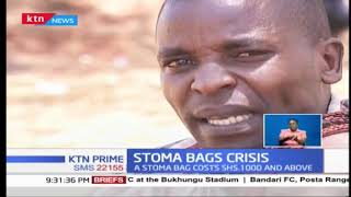 Stoma survivors say waste bags available in Kenya are poorly made and too costly