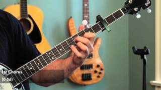 """Mumford and Sons """"Little Lion Man"""" Banjo Lesson (With Tab)"""