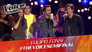 The Voice Chile | Equipo Fonsi - Can't Stop The Feeling