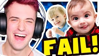 TRY NOT TO LAUGH - FUNNY KIDS FAILS!! 😂