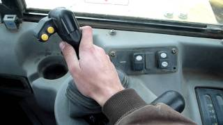 How the Controls in a Caterpillar 657G Work