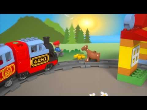 Vidéo LEGO Duplo 10507 : Mon premier train