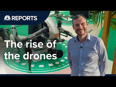Drones are growing into a $100 billion industry | CNBC Reports