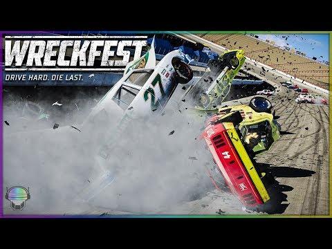 CARNAGE AT BRIS-DOVER! | Wreckfest | NASCAR Legends