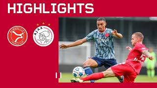 HIGHLIGHTS | Almere City - Jong Ajax | FIRST FRIENDLY