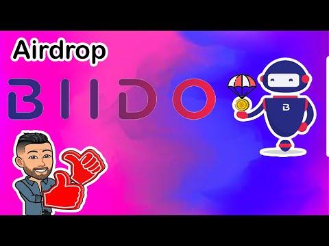 💢Já listado em Exchange💢 Airdrop Biido Round2 Ganhe $7 Dólares ou mais ! TOP.