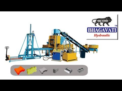 Fully Automatic Fly Ash Block Making Plant