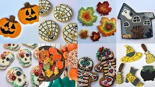 FALL & HALLOWEEN Cookie Decorating Compilation