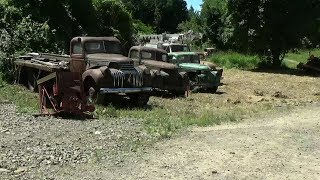 Dragging Classic Trucks Out of The Brush (CTR-155)