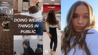Doing Embarrassing Things In Public (Cringey)