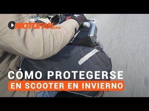 Vídeos de 'Cómo protegerse en scooter en invierno'