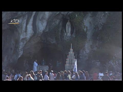 Chapelet à Lourdes du 25 octobre 2019