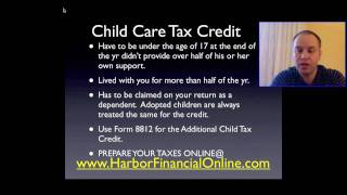 Child Care Tax Credit Calculator For 2012, 2013