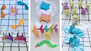 fold super nice paper toys - fold paper animals - origami art # 56