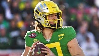 Oregon QB Justin Herbert || 2018 Season Highlights