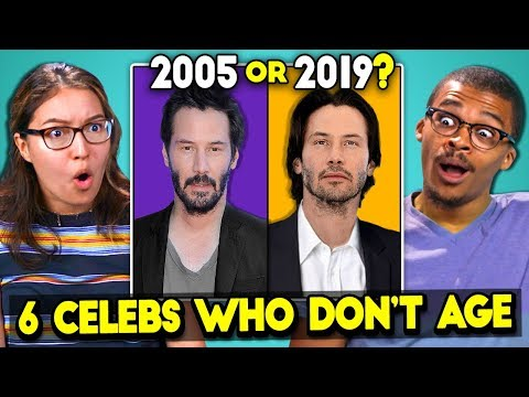 6 Celebrities Who Don't Age (React)