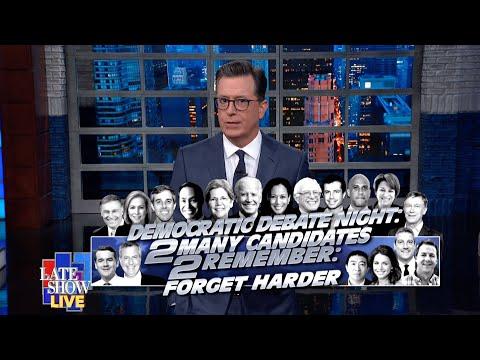 Stephen Colbert's LIVE Monologue Part 1: A Whole Lot Of Delaney Fans
