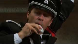 """Курилка в Берлине)))(фрагмент из фильма """"Гитлер капут!"""")"""