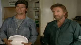 Walker, Texas Ranger clip [1995] S04 E03 - Don Swayze fights Chuck Norris
