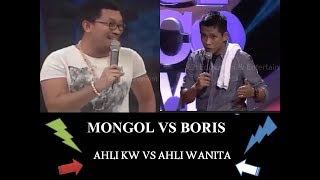 Boris Vs Mongol Stand Up Comedy Battle