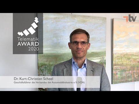 Telematik Award 2020 - Grußwort Dr. Kurt-Chrisitan Scheel