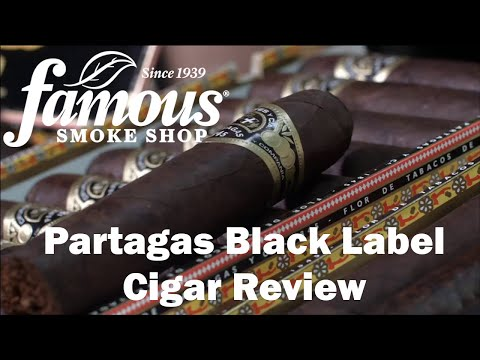 Partagas Black Label video