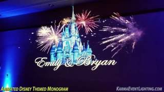 Disney Theme Wedding Phoenix Anthem Country Club Karma Event Lighting