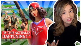 Pokimane joins FaZe Clan?! Fortnite Squads ft. FaZe Jarvis & FaZe Kay!
