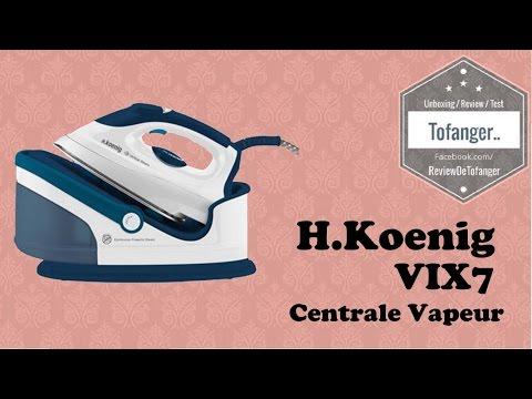 H.Koenig - Centrale vapeur VIX7 - 2400W