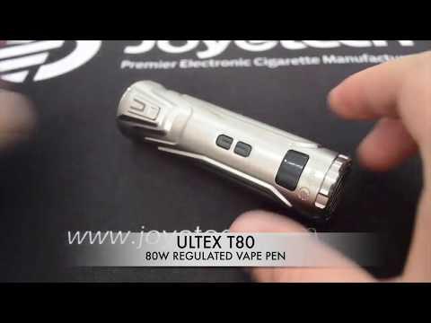 Электронная сигарета Joyetech Ultex T80 в комплекте с Cubis Max - видео 1