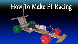[TUTORIAL] DIY Formula 1 racing car remote control, How to make f1 RC