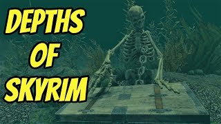 Depths of Skyrim an Underwater Overhaul |Skyrim SE Mods|