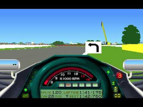 MicroProse Formula One Grand Prix Geoff Crammond Canadian Grand Prix Round 5 (F1 1991)