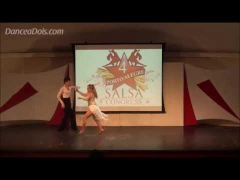 Silvana Arestico & Flavio Chiappa Porto Alegre Salsa Congress