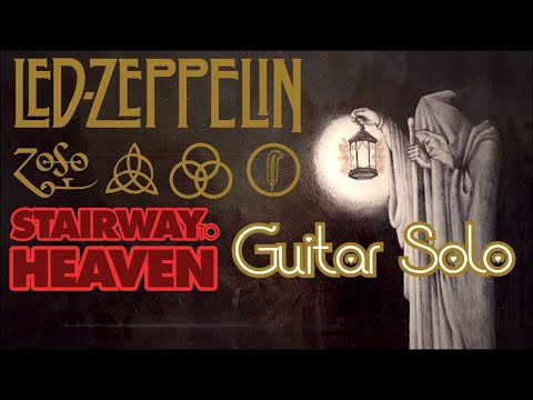 """Led Zeppelin - """"Stairway To Heaven"""" Guitar Solo by Ryan Ball"""