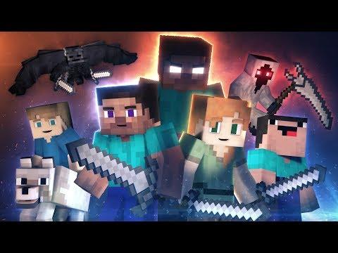 Animation Life: FULL MOVIE (Minecraft Animation) видео